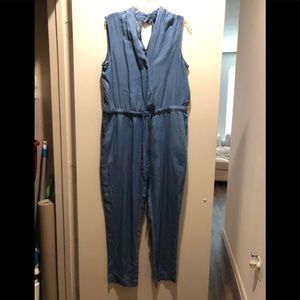 Pants - Chambray jumpsuit